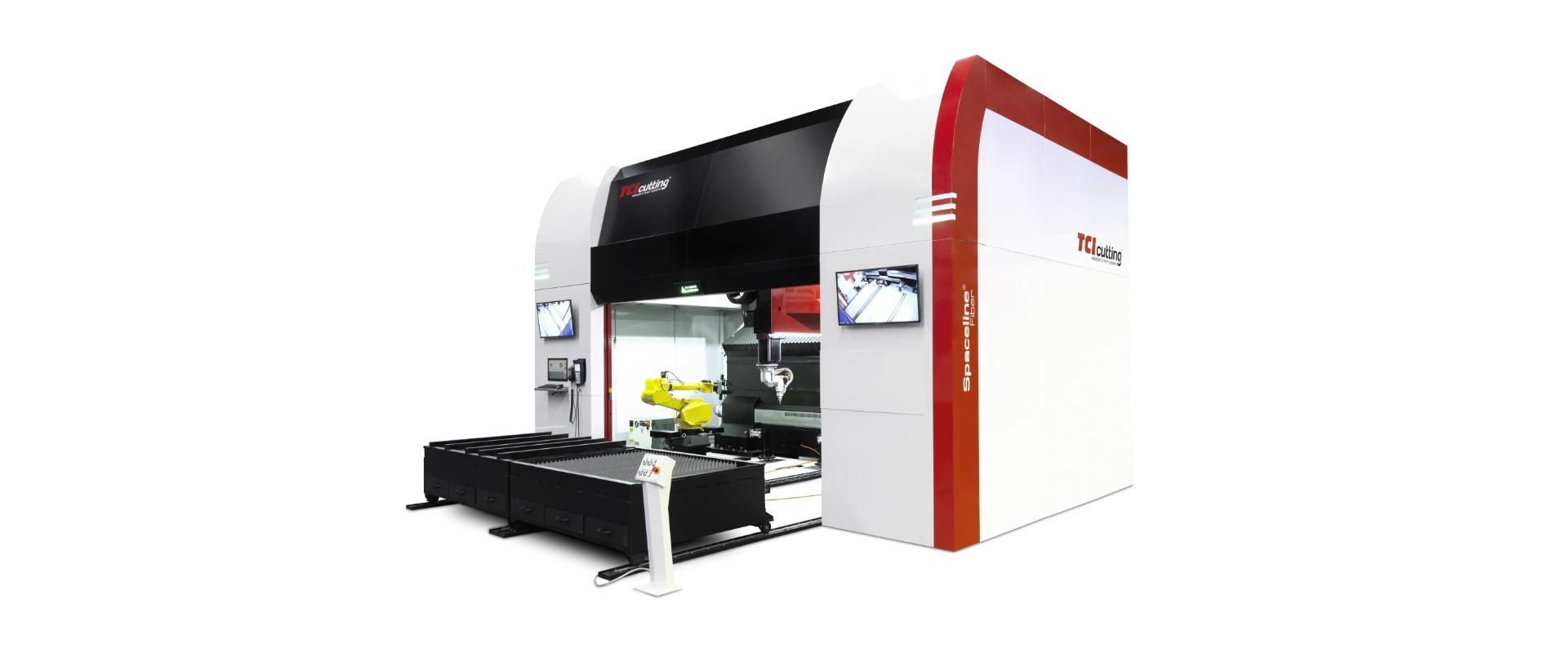 Máquina de corte láser 3D automatizado