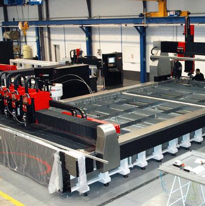Instalaciones TCI Cutting, fabricacion maquinas de corte