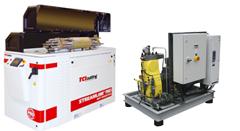 Bombas máquina de corte por chorro de agua a presión waterjet TCI Cutting