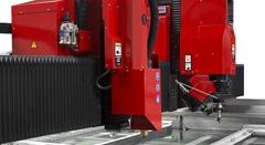 Máquina de corte por chorro de agua a presión waterjet