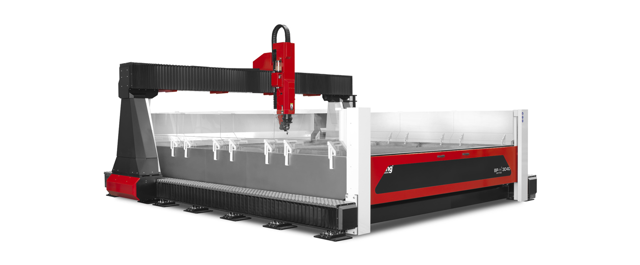 BP-H Waterjet Cutter: the new series of high pressure