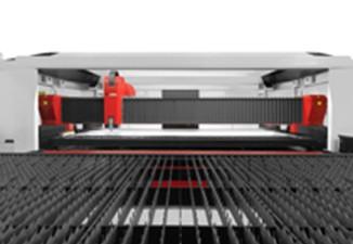 Presentación de la máquina de corte por láser de fibra de máxima potencia, TCI Cutting Smartline Fiber, fuente láser de 6 kW