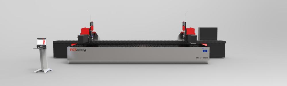 Máquina de corte por chorro de agua a presión waterjet SM-S