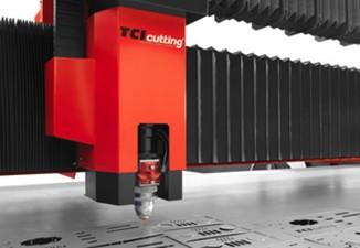 La estabilidad de las máquinas de corte láser de TCI Cutting, carro de compensación mecánica para el eje B