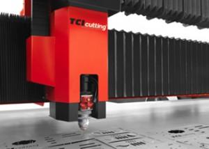 Maquina corte láser, carga y descarga