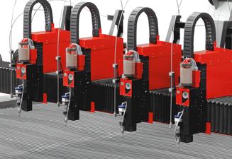Machine de découpe jet d'eau waterjet SM-M de TCI Cutting