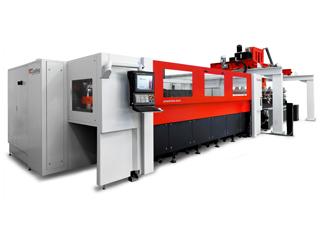 Le chargeur d'alimentation de tôles d'une machine de découpe laser de TCI Cutting