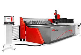 Machine de découpe jet d'eau waterjet BP-C de TCI Cutting