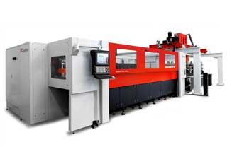 Alimentador de chapas de una maquina de corte laser de TCI Cutting