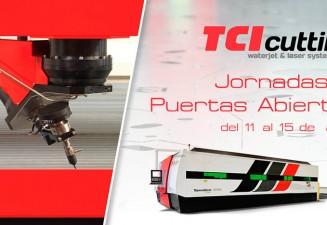 TCI Cutting Jornadas de Puertas Abiertas 2016 para conocer la empresa y nuestras máquinas de corte láser y waterjet