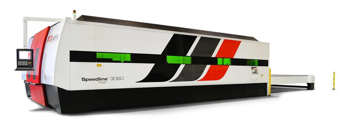fiber laser cutting machines with the Speedline