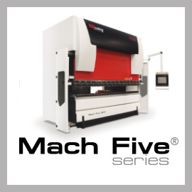 Mach five press brake bending
