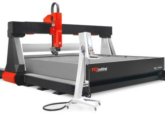 Waterjet cutting machines: power and precision