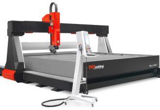 Máquinas de corte por chorro de agua waterjet : potencia y precisión
