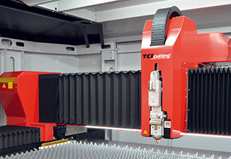 We increase the speed of our fiber laser cutting machines with the Speedline