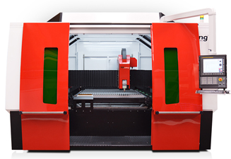 Speedline fiber 3015, the fast and efficient laser cutting machine by TCI Cutting
