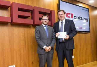 CEEI Valencia, pour son XXV Anniversaire, reconnaît la trajectoire innovante de TCI Cutting.