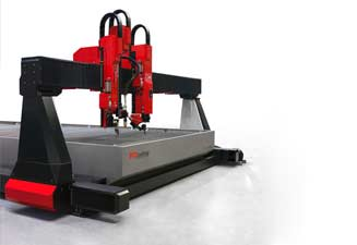 Water jet cutting machine BP-H 3060, unlimited versatility