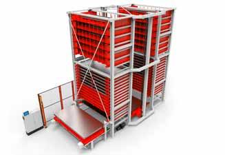 TCI Tower Systems 4.0, tour de stockage automatisé, système intelligent et sur mesure