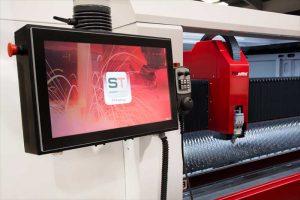 ecran machine decoupe laser