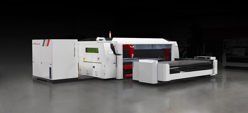 fiber laser cutting machine smartline fiber 3015 TCI Cutting