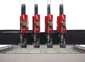 máquina waterjet BP-H 4 cabezales