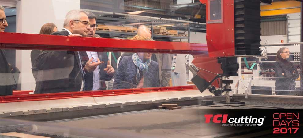 Open Days 2017 TCI Cutting