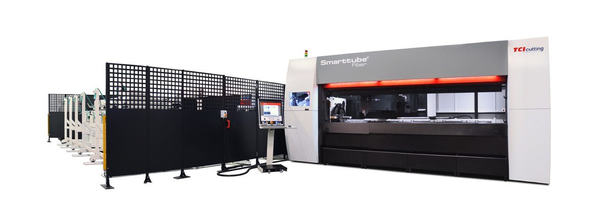 TCI Cutting Tube laser cutting machine Smarttube fiber