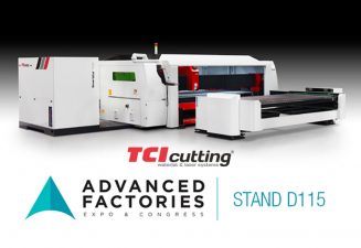 TCI Cutting Global partner en Advanced Factories 2018.