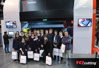 Caxton College students visited our facilities at TCI Cutting