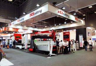 TCI Cutting Intelligent industrial cutting solutions stand out at BIEMH 2018