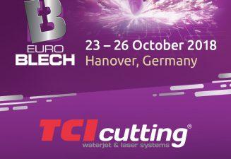 TCI Cutting présentera ses solutions de découpe industrielle les plus avancées à EUROBLECH 2018.