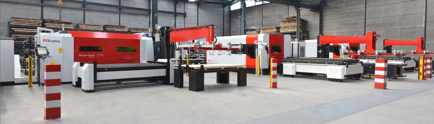 maquinas de corte laser fibra combinadas sistema de corte industrial