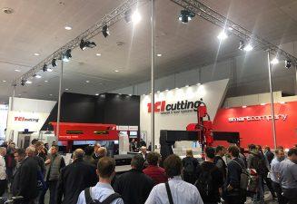 TCI Cutting exhibe en Euroblech su liderazgo en la Industria 4.0