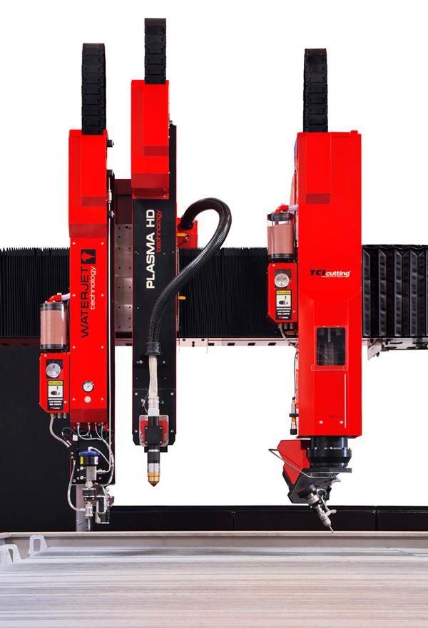 Waterjet&PlasmaHD: calidad de corte y velocidad en la misma máquina