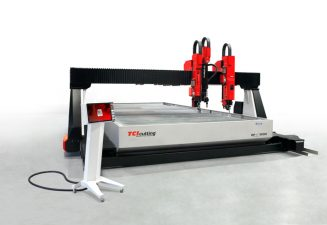 Waterjet & PlasmaHD: quality of cut and speed in the same machine