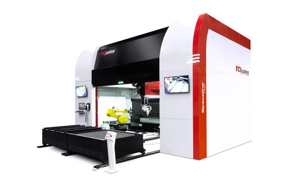 Spaceline Fiber 3D laser cutting machine