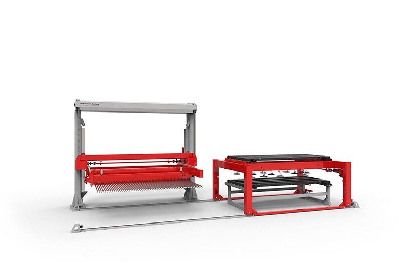 TCI Cutting Automation Systems Load & Unload Compact